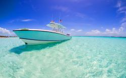 Blue water carribean bahamas