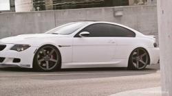 """BMW 645 on 20"""" Vossen VVS-CV3 Concave Wheels / Rims"""