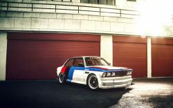 BMW E21 GTR Race Car HD Wallpaper