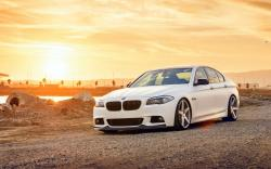 BMW F10 550i Car Wheels Tuning