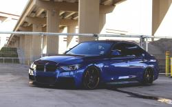 BMW F30 335i Car Wheels Tuning