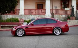 BMW M3 E46 Red Car