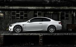 White BMW M3 E92 Coupe