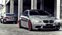 BMW M5 F10M and BMW M3 E92