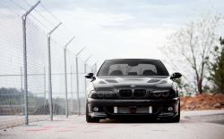 BMW M5 Supercharged E39 Car Fence Parking