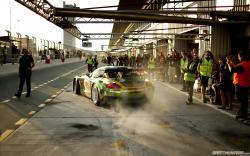 Bmw racecar box burnout