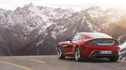 BMW Zagato Coupe (2012) - Rear Wallpaper