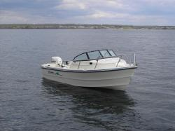 17' and 16' Sea Chaser soft top open boat. These boats offer unprecedented fishability, with a smaller boat package. You'll feel right at home fishing ...