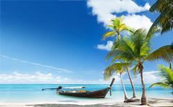 Boat Tropical Beach