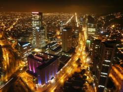 Bogotá Night Shot Bogotá Fotografía ...