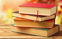 Books Bokeh