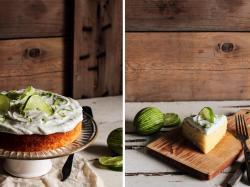 Boozy Margarita Lime Cake