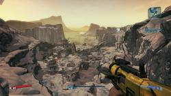 Borderlands 2 running at full, glorious 1080p on PC. As well as the impressive draw distances possible here, the game takes full advantage of physics-based ...
