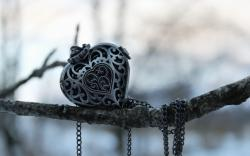 Branch Pendant Heart Jewelry
