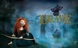 Brave Merida - brave Wallpaper