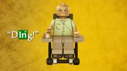 LEGO Breaking Bad Wheelchair