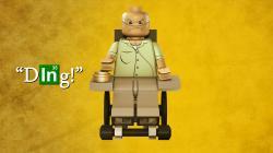 LEGO Breaking Bad Wheelchair