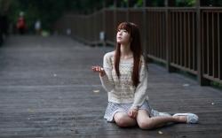 Bridge Girl Asian
