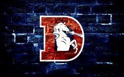 Denver Broncos D Logo Wallpaper by DenverSportsWalls