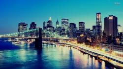 Brooklyn Bridge, Manhattan wallpaper 1920x1080