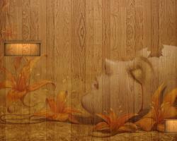 Brown Broken Wallpaper