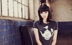 Brunette Girl Melissa Clarke Photo