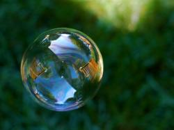 Make yourself a Bubble of Peace!