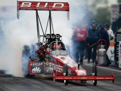 Budweiser Top Fuel Dragsters