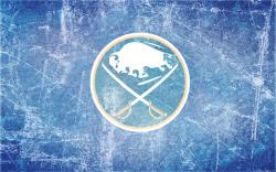 Sabres Alternate Ice Wallpaper by DevinFlack