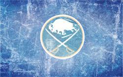 Sabres Alternate Ice Wallpaper by DevinFlack
