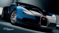 Bugatti Veyron Blue 1920x1080