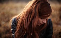 Lovely Redhead Girl Photo