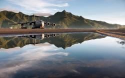HD Wallpaper   Background ID:383971. 1920x1200 Military Boeing C-17 Globemaster III