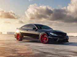 C63 amg black edition Wallpaper in 1920x1440 Normal