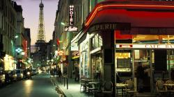 Paris Cafe Wallpaper