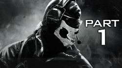Call of Duty Ghosts Gameplay Walkthrough Part 1 - Campaign Mission 1 (COD Ghosts)