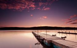 sunrise landscapes nature coast piers Canada calm Quebec lakes HDR photography sea wallpaper