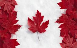 amazing canada flag wallpaper