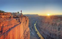 Grand Canyon's North Rim is only open from mid-May through mid-October. At 8,000' above sea level, the North Rim is cooler and typically experiences heavy ...