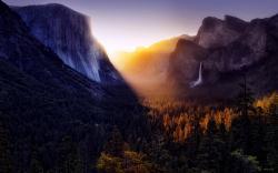 Canyon Wood Waterfall