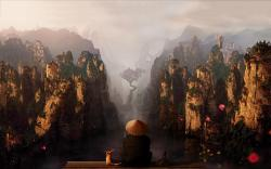 China canyons art