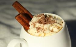 Cappuccino Chocolate Cinnamon Whip Cream