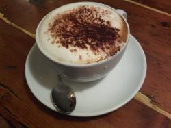 Cappuccino. 25 dkk