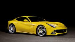Ferrari F12 Berlinetta in yellow on wallpapers hd from http://hotszots.eu