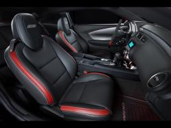 2011 Chevrolet Camaro Red Flash Show Car - Interior - 1920x1440 - Wallpaper