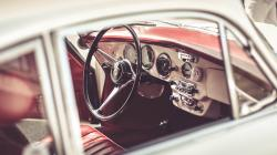 Porsche Interior Close-Up