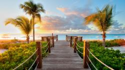 Bridge Wood Beach Caribbean Hd Free Wallpaper 1920x1080px