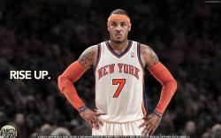 Carmelo Anthony Knicks Rise Up by IshaanMishra