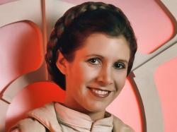 ... Carrie Fisher ...