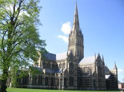 ... dedication Salisbury Cathedral